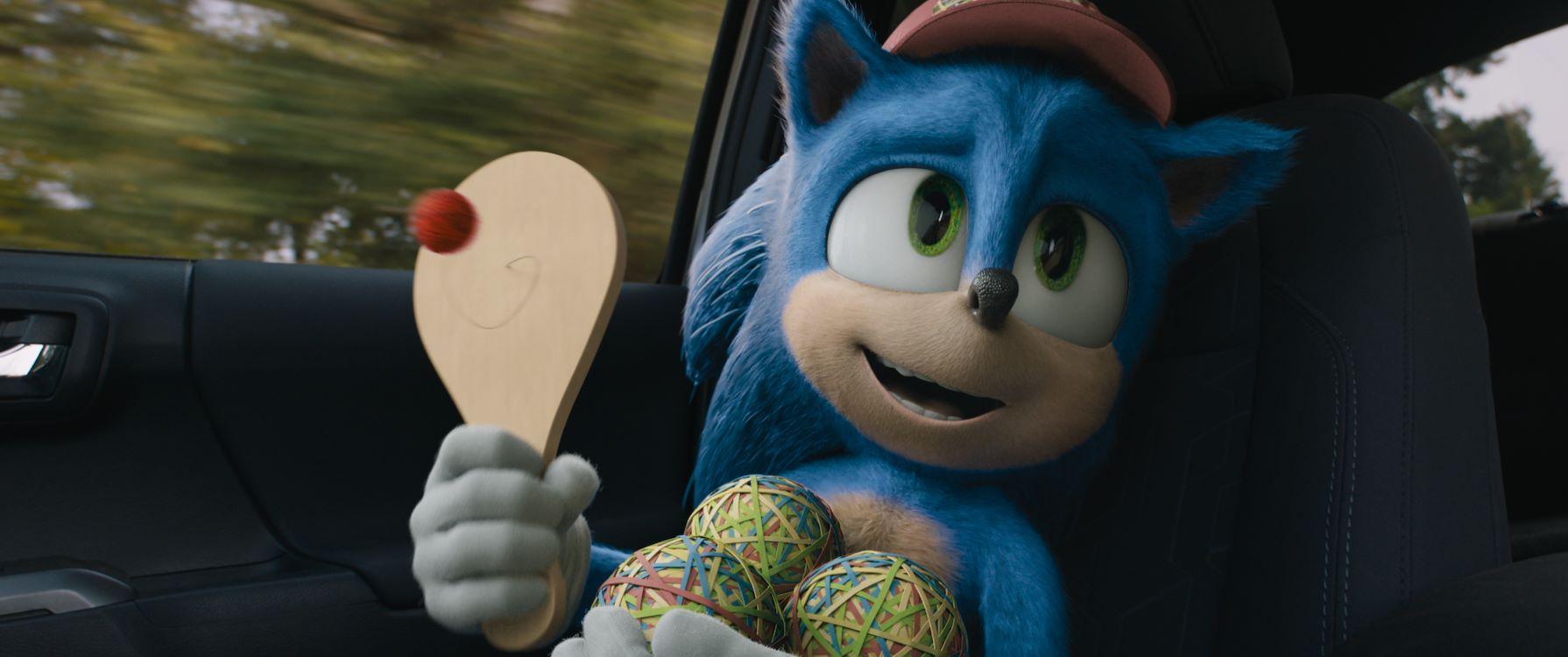 Blu-Ray/DVD actie Sonic (Nu verkrijgbaar)